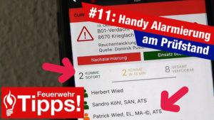 #11: Handy Alarmierung am Prüfstand!