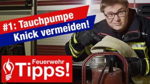 #1: Tauchpumpe – Knick im Schlauch vermeiden!