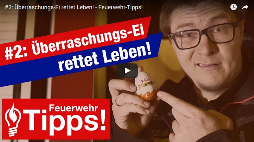 #2: Überraschungs-Ei rettet Leben!