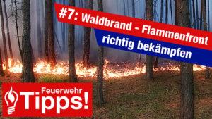 #7: Waldbrand – Flammenfront richtig bekämpfen!