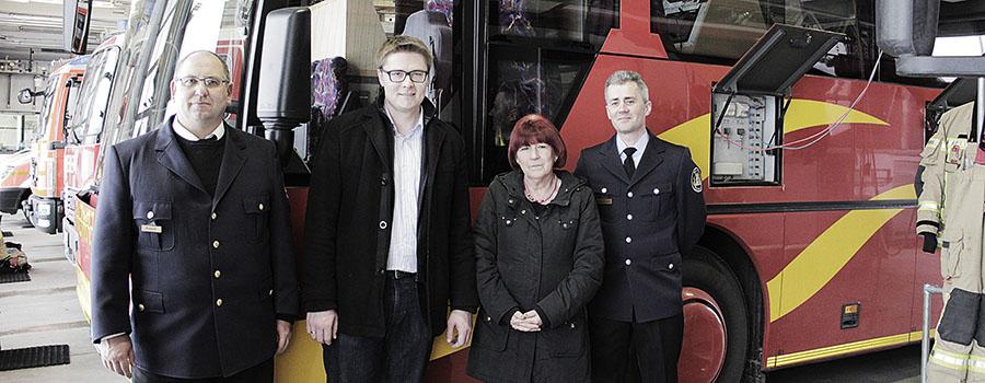 Berufsfeuerwehr Berlin: Erfahrungsaustausch