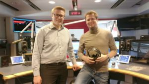 "Christian Doczekal im Radio bei ""Mahlzeit Burgenland"""