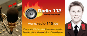 Interview auf Radio 112