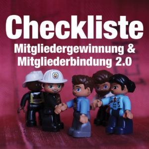 Checkliste: Mitgliedergewinnung 2.0